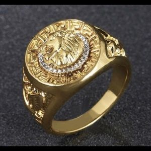 Other - 18K Gold Plated Design Fashion Jewelry Ring size